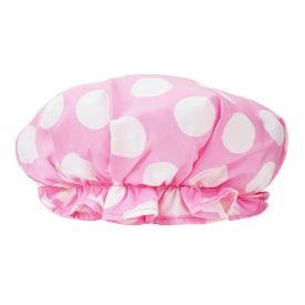 Si vous avez une soirée karaoké improvisée, enfilez ce bonnet rose à pois Cath Kidston, et chantez sous la douche pour vous entraîner ! Bonne de douche Cath Kidston, La Petite Marchande