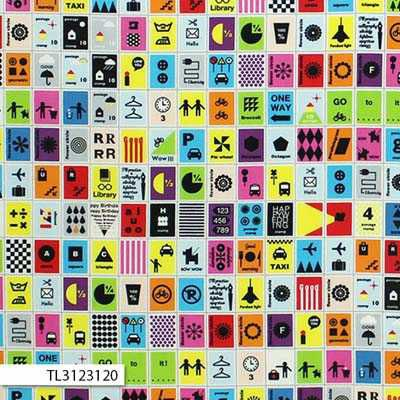 First of Infinity 2016 - Postage Stamps in Multi/Bright. Here in Australia Postage Stamps by First of Infinity 2016 at $20 metre from www.clairsfabrics.com