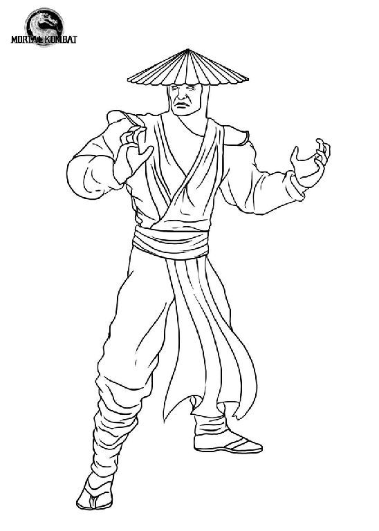 Raiden Mortal Kombat Cosplay In 2020 Mortal Kombat Mortal Kombat Art Coloring Pages