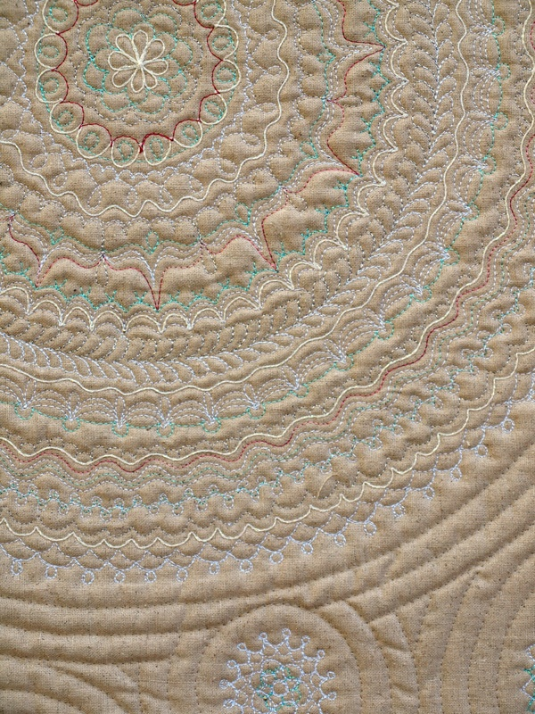 Doily quilting