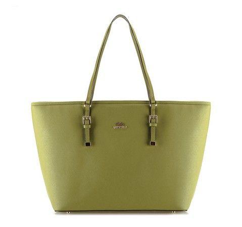 Zielona shopperka.