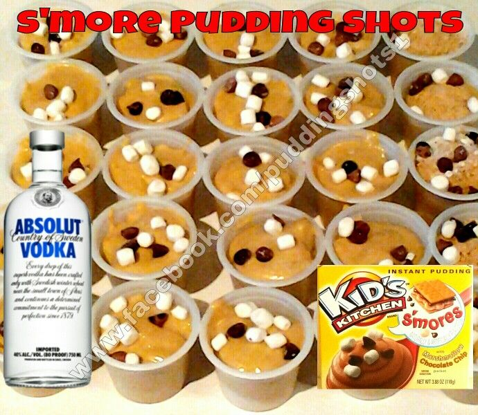 ... Other Alcohol on Pinterest | Pudding shots, Puddings and Jelly shots