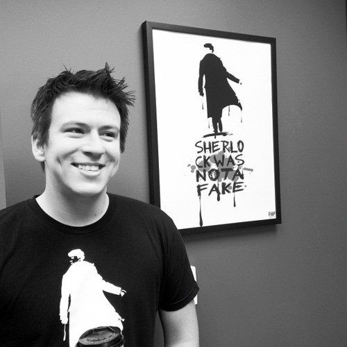 Philip DeFranco. Youtuber, businessman, funny guy, sharer of all things newsy type, pop-culture type and nerdy type stuff. He's one of my top 5 fav youtubers, easily. check him out: http://www.youtube.com/user/sxephil