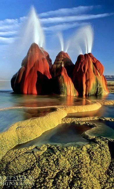 The Black Rock Desert, USA