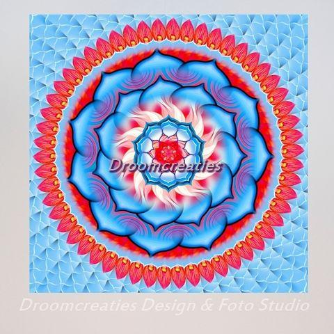 Mandala Rosette De kleur van de rode roos symboliseert liefde. De rozet (engels: rosette) is een klein roosje, een roosje dat nog moet groeien. Liefde moet ook groeien. Geven en nemen zijn de twee belangrijkste …