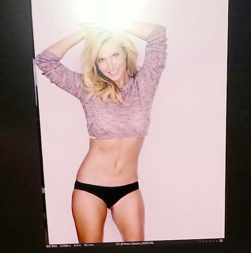 Britney Spears Posts a Picture From a Photo Shoot. So, We Ask Who The Eff Is That?! | In Touch Weekly