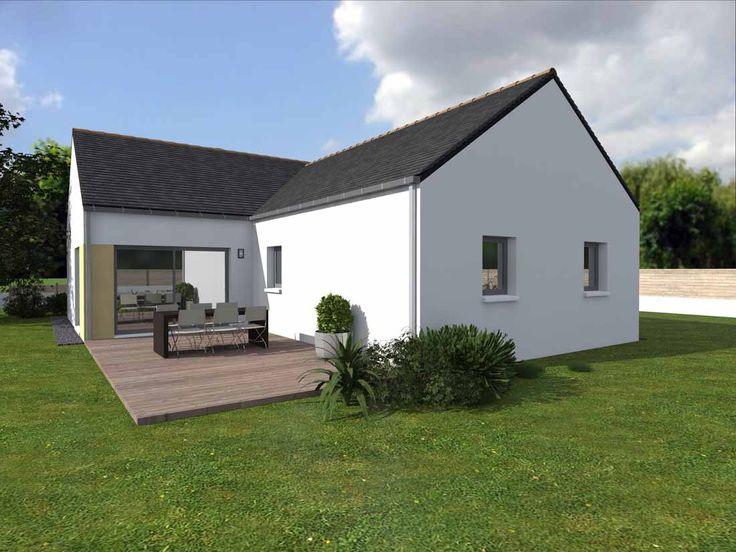 Ava, nouveau modèle du0027Alliance Construction répond aux normes RT2012 - exemple de facade de maison
