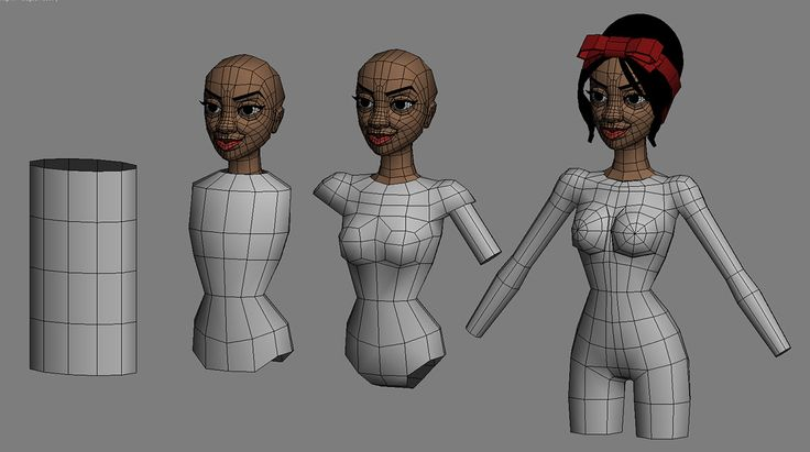 3ds Max Character Creation - Chapter 1 By Andrew Hickinbottom