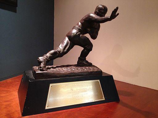 The 2017 Heisman Trophy Odds On Favorite Winner   Sports  Techie