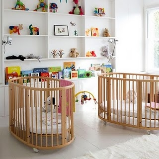 Zwillingszimmer baby  21 best Twins: Nurseries & Kids Rooms images on Pinterest | Twin ...