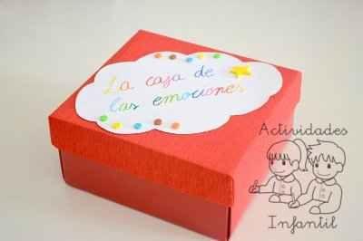 La caja de las emociones. Trabajando la educación emocional en la asamblea de clase. » Actividades infantil