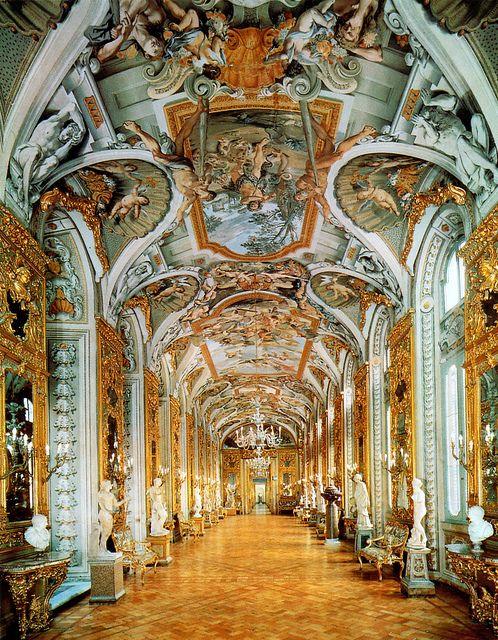 Gallery of the Mirrors at Palazzo Doria Pamphilj in Rome, Italy