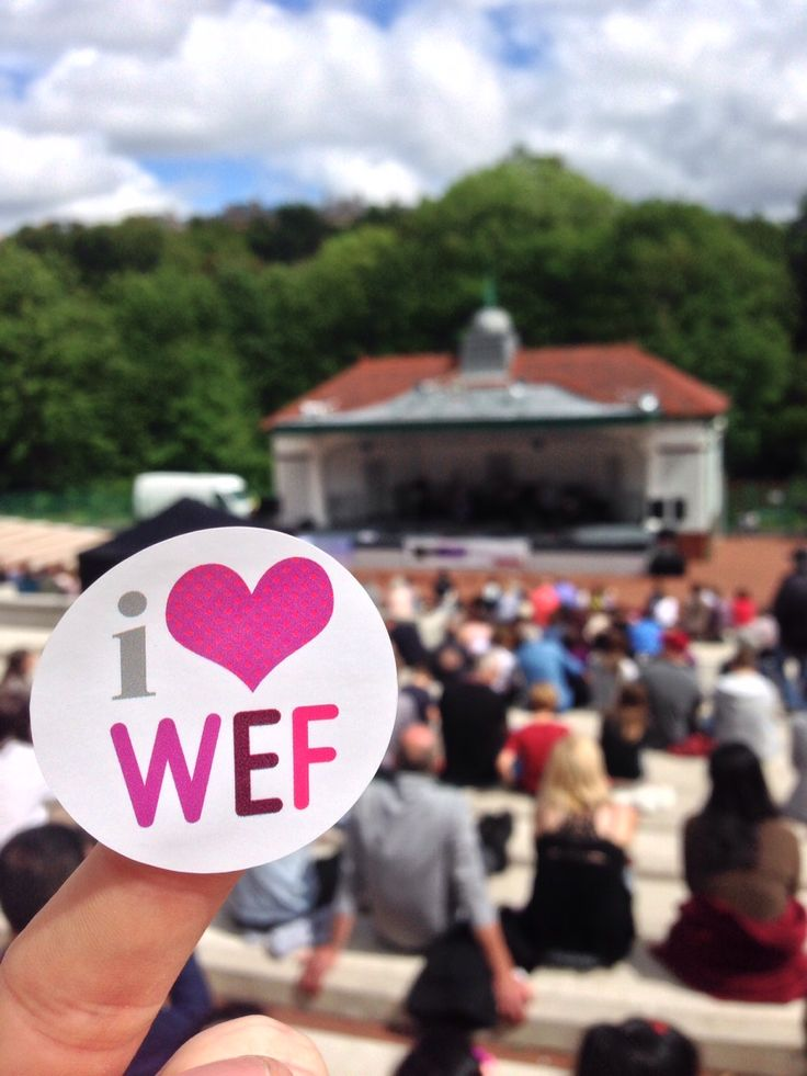 Final WEF event at the Kelvingrove Bandstand #WEF2015