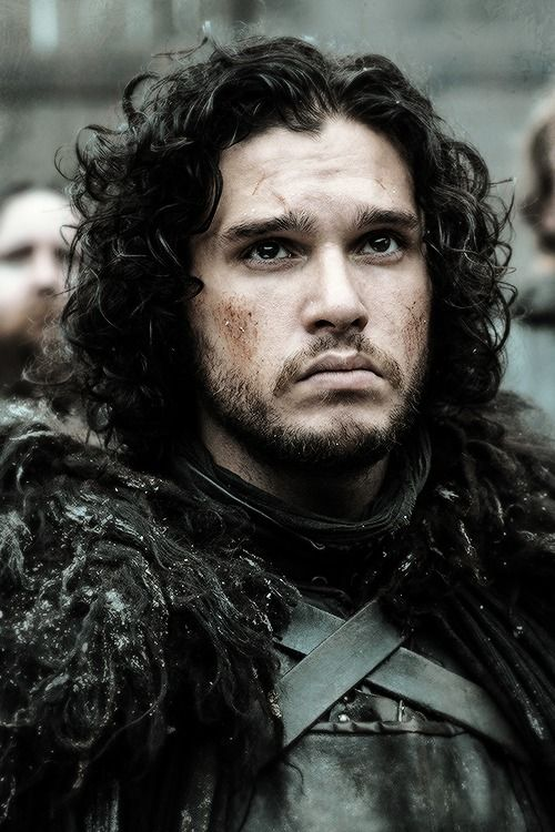 John Snow!!! Just look at him. He's a beauty.
