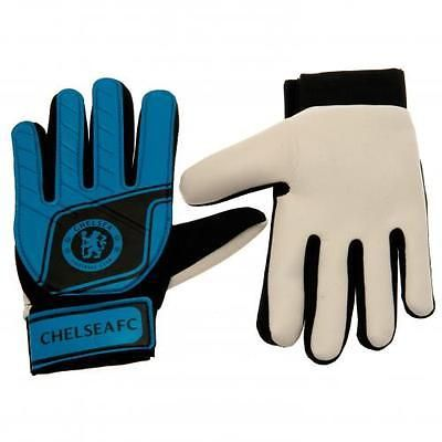 Official #football chelsea f.c. #goalkeeper #gloves fluo kids xmas gift,  View more on the LINK: 	http://www.zeppy.io/product/gb/2/331852289700/