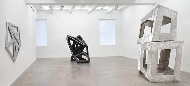 Richard Deacon at Marian Goodman Gallery-Exhibition view