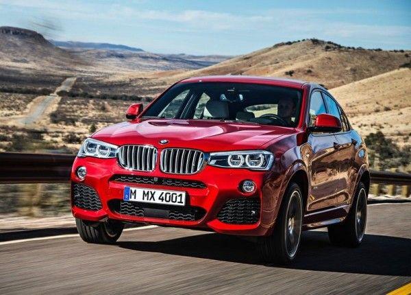 2015 BMW X4 Front Photos 600x430 2015 BMW X4 Review