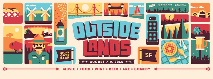 Outside Lands 2015 Lineup Announced! — State Collegewear