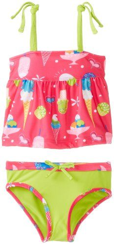 Save $8.00 on Pink Platinum Baby-Girls Infant Ice Cream Tankini; only $11.99
