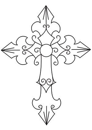 Fortunate 7 Cross design (UTH6285) from UrbanThreads.com....  Learn even more by clicking the picture