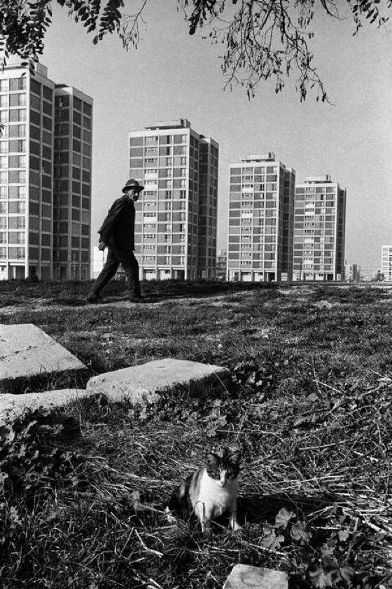 Ataköy (1966. Ara Güler) Bakırköy istanbul