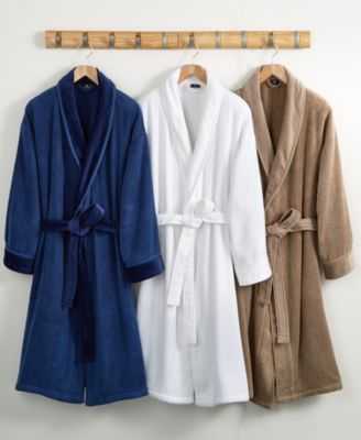 CLOSEOUT! Hotel Collection Velour Luxury Bathrobe