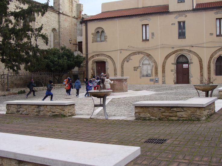 Town square, Guglionesi,Italy