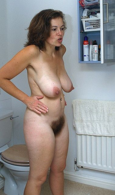 Only hairy women nudes