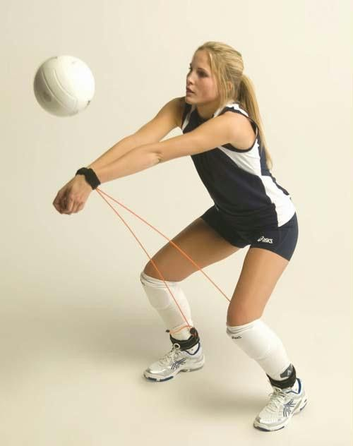 Cool #Volleyball #TrainingTool! #Sportdecals