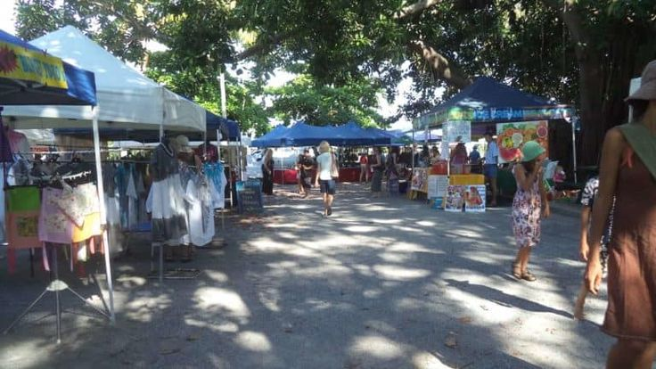 cairns markets - free things to do in cairns