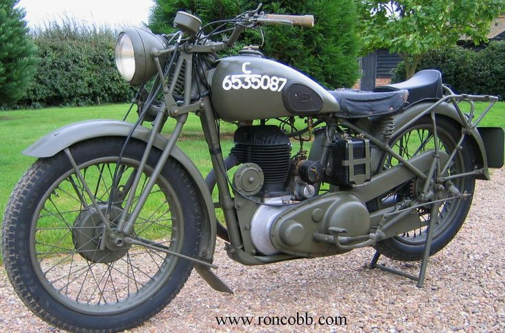 antique motorcycles for sale | BSA WM20 classic military motorcycle for sale
