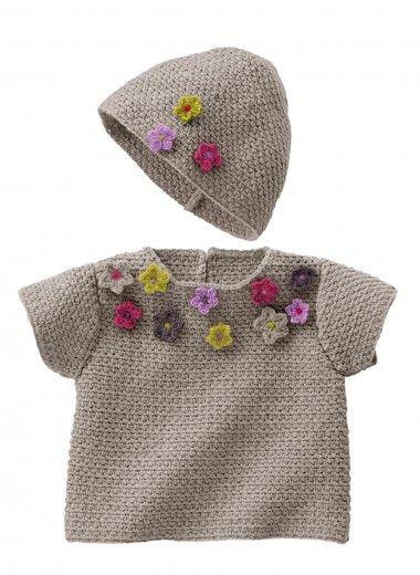 Mag 160 - #28 - Sweater and hat   Buy, yarn, buy yarn online, online, wool, knitting, crochet   Buy Online