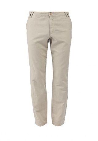 Мужские льняные брюки бежевого оттенка от Finn Flare - классический вариант на лето. Высококачественный легкий трикотаж, приятен к телу. Детали: свободный крой, четыре кармана, застежка на молнию и пуговицу, шлевки на поясе. http://j.mp/1pNfHpm