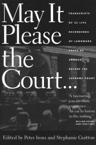 Oral Arguments of Landmark Supreme Court Cases---for teaching delineation of arguments