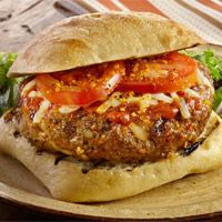 Backyard Brick Oven Pizza Burgers