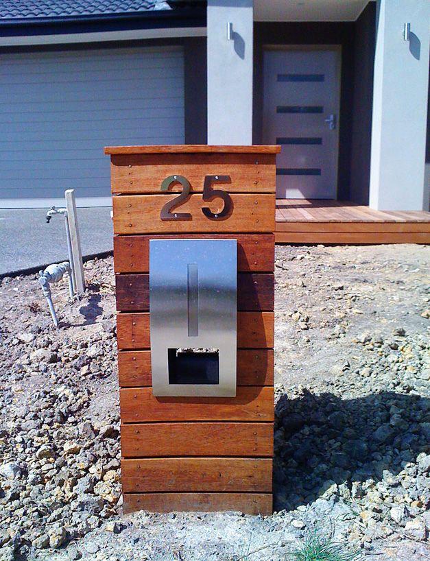 Modern Letterbox Ideas 17 Best Modern Mailbox Ideas Images On Pinterest  Mailbox Ideas