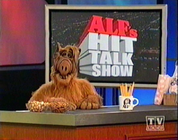 a guide listing the guests and air dates for episodes of the tv series alfs hit talk show - Alf Halloween Episode