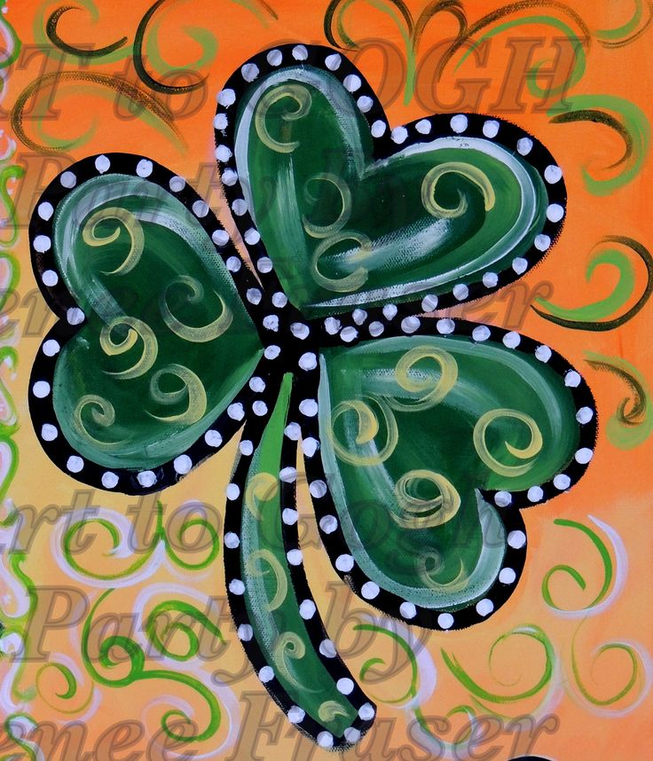 st patrick canvas painting - Google Search