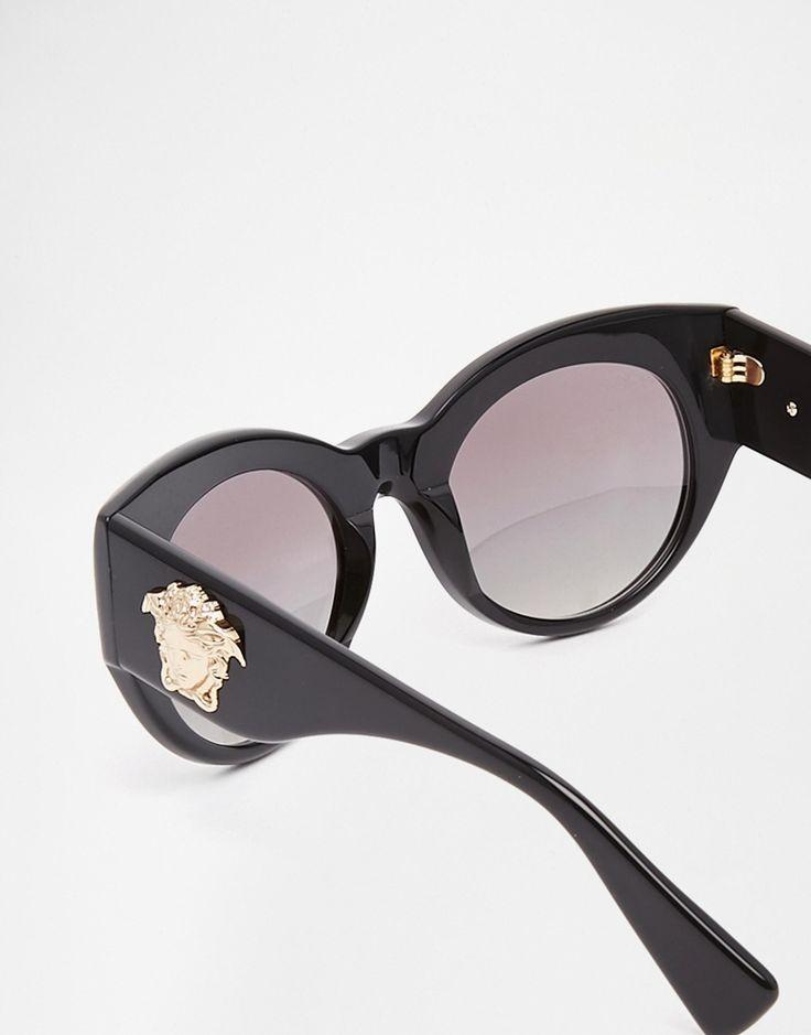 """Unas gafas de sol Versace son un """"fondo de armario"""" que toda mujer con estilo debería tener.  #Gafas #sol #lentes #Versace #moda #estilo #mujer"""