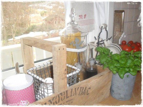 Интерьер в стиле шебби шик в отдельно взятой квартире. Кухня-столовая 9