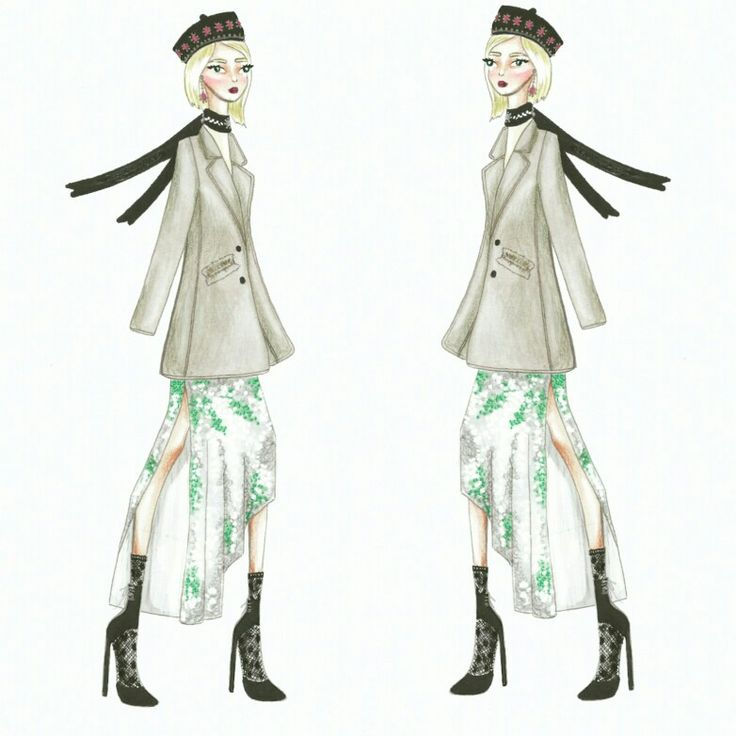 Wonderland (23) Fashion sketch