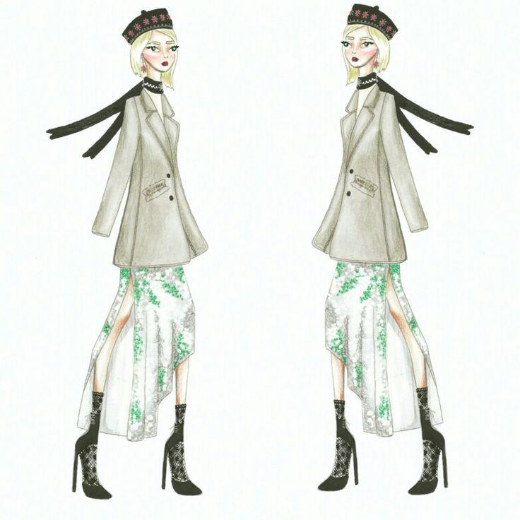 Wonderland (23) Fashion sketch