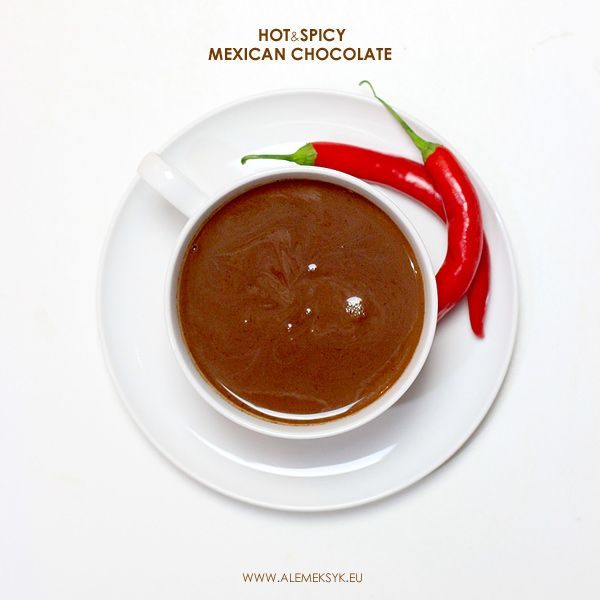 GORĄCA MEKSYKAŃSKA CZEKOLADA Z CHILI // HOT MEXICAN CHOCOLATE WITH CHILI