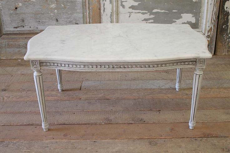Marble Top Coffee Table by FullBloomCottage on Etsy https://www.etsy.com/listing/289216503/marble-top-coffee-table