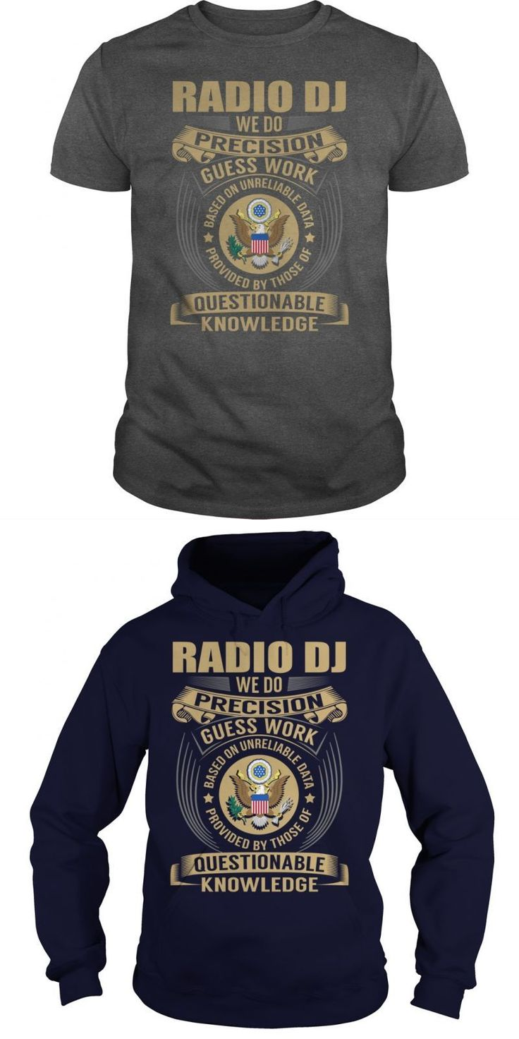 Radio DJ Job Title Tshirts  Guys Tee Hoodie Ladies Tee Dj T-shirts With Lights Dj Ashba T Shirt Dj Yasmin T Shirt Dj Aoki T Shirt