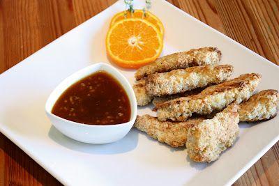 Spicy Coconut Chicken Strips | Oven/Casserole | Pinterest