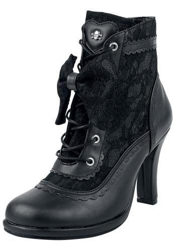 Glam 200 - Geveterde laarzen van Demonia