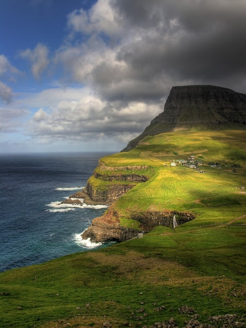 Amazing Snaps: Faroes Island, Denmark. My co-worker had a foreign exchange student from here.