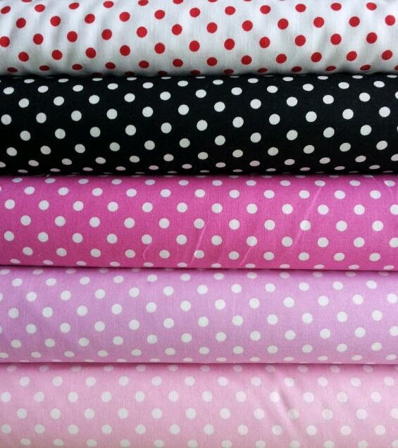 Hmmm...polka dot fabric - tablecloth?