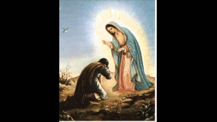 Música para orar, encontrada en el Manto de la Virgen de Guadalupe